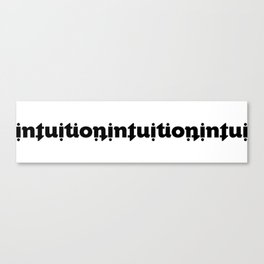 Intuition Canvas Print