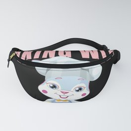 Baking With My Peeps, Easter Bunny Baker Fanny Pack