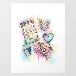 Love 90' Art Print