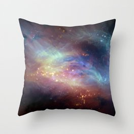 Celestial Drift Throw Pillow