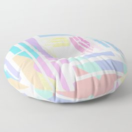 Colors, colors everywhere Floor Pillow