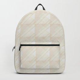 Modern Geometric Pattern 7 in Ivory Backpack