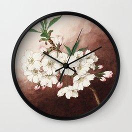 Jyonioi - Upper Fragrance Cherry Blossoms Wall Clock