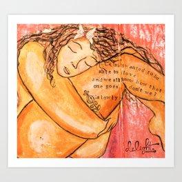 Body Love Art Print