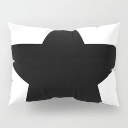 Black star t shirts cotton jersey clothing Pillow Sham