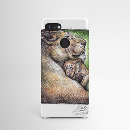 Lioness and Cub Android Case