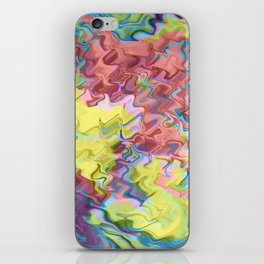 Lost in Thought; Fluid Abstract 56 iPhone Skin