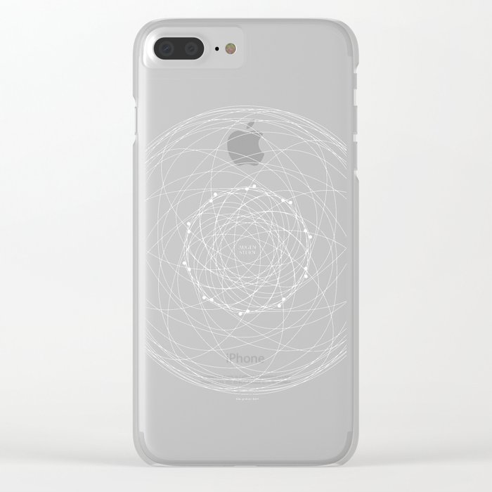 Ornament – Augenstern Clear iPhone Case