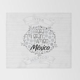 Para mi gran amigo Throw Blanket