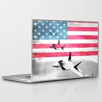 patriots Laptop & iPad Skins featuring United States Air Force(USAF) by MachoGifts