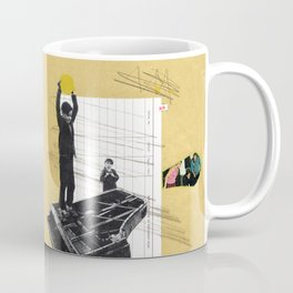 Serial No. A26, a collage about rebels Coffee Mug