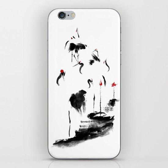 7 Cranes iPhone & iPod Skin