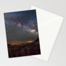 Fairyland Canyon Starry Night Photography Stationery Cards