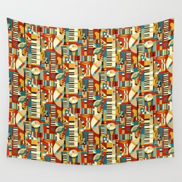 Jazz Fusion Wall Tapestry