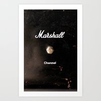 Marshall - Channel Art Print