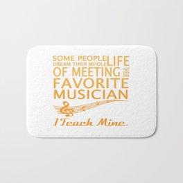 Music Teacher Bath Mat