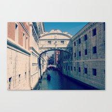 The Bridge of Sighs Canvas Print