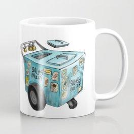 Blue Paletero Ice Cream Cart Coffee Mug