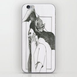 Bat Attack iPhone Skin