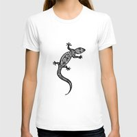 southwest T-shirts featuring Southwest Gecko by Lisa Argyropoulos