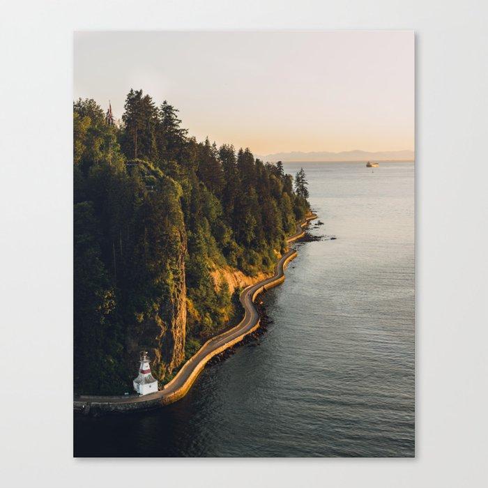 A Curvy Park - Vancouver, British Columbia, Canada Leinwanddruck