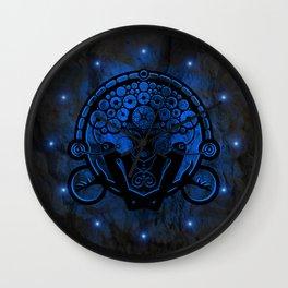 Gravitation color Wall Clock