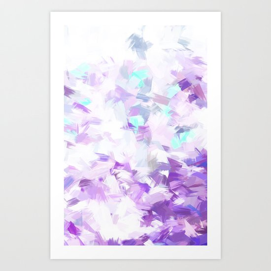 LIGHT BLOSSOMS II Art Print