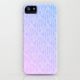 Crystal Pattern iPhone Case