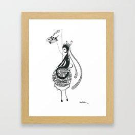 home is where ..  Framed Art Print