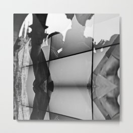 urban feflection  Metal Print
