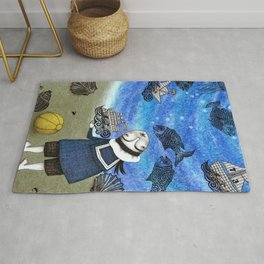 Day on the Beach Rug