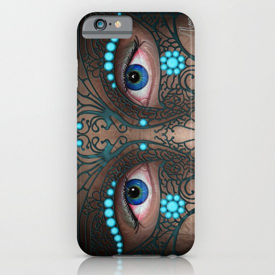 Halloween Mask - Painting iPhone & iPod Case