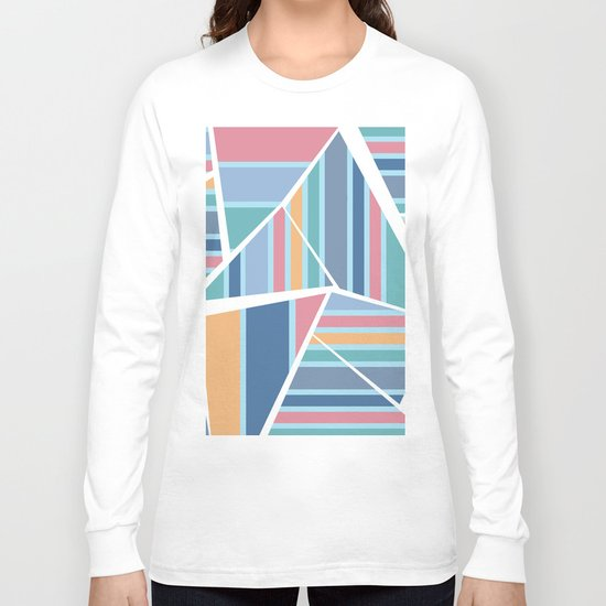 CRAZY STRIPES (abstract pattern) Long Sleeve T-shirt
