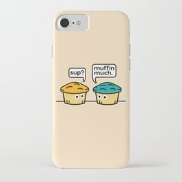 Two Muffins iPhone Case