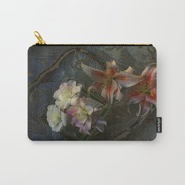 The Begonia Brocade Carry-All Pouch
