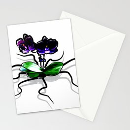 Creepy Orchid Stationery Cards