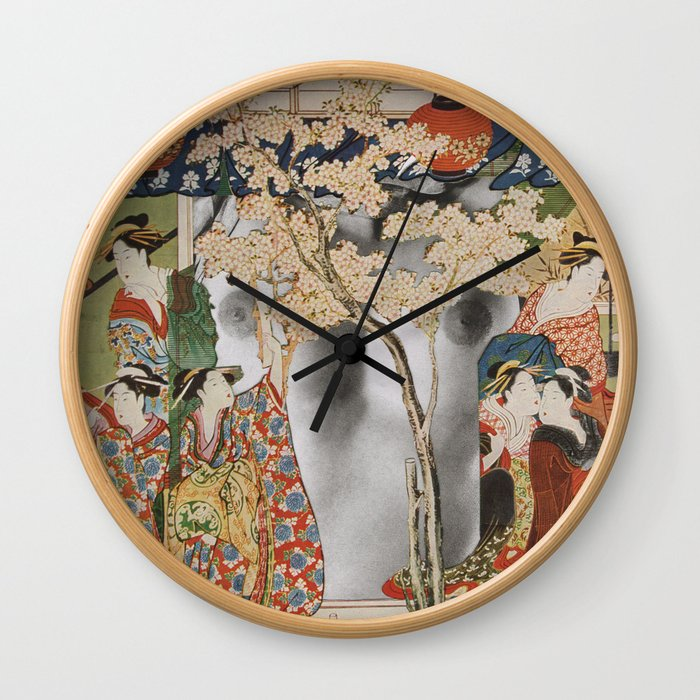 House Of Pleasure Wall Clock