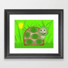 Little Turtle Framed Art Print