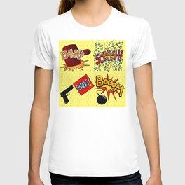 Onomatopoeia set T-shirt