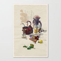 W.I.P. Canvas Print