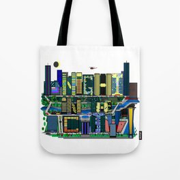 Night In The City Tote Bag