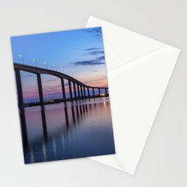 The Jordan Bridge at Twilight Stationery Cards