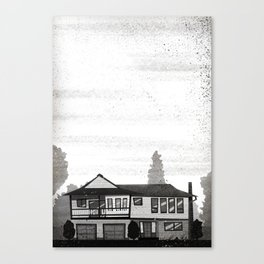 Places I've Lived Series - 1 Canvas Print