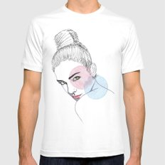 Lauren Mens Fitted Tee White MEDIUM