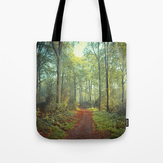 Forest Morning Walk Tote Bag