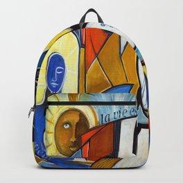 La Vie est Belle en Couleurs Primaires Backpack
