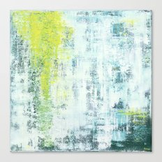Flowing Green Canvas Print