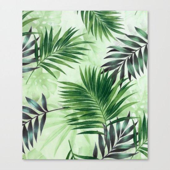 Palm leaves IV Canvas Print
