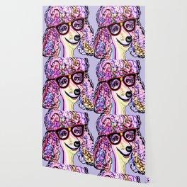 Hipster Poodle Wallpaper