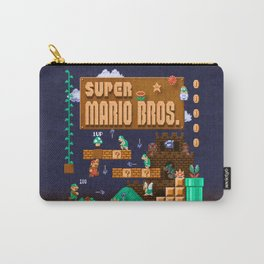 Mario Super Bros Carry-All Pouch